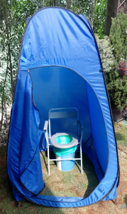Now You Have A Portable Toilet Ready For The Ladies Whenever Go Camping Chair Folds And Bucket Prevents Any Mess To Legs